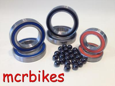 Steel Bearing Cartridges Grease Filled & Rubber Sealed 607- 6806 YOU CHOOSE SIZE