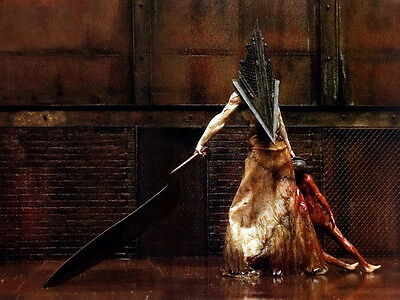 """00 Silent Hill Pyramid Head Game 19""""x14"""" Poster"""