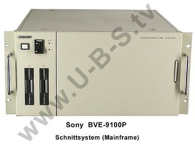 Sony BVE-9100P - Editing Control Unit Mainframe