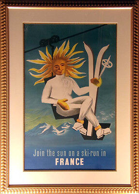 French Antique Poster French poster 1950 L@@K! SUBMIT BEST OFFER!