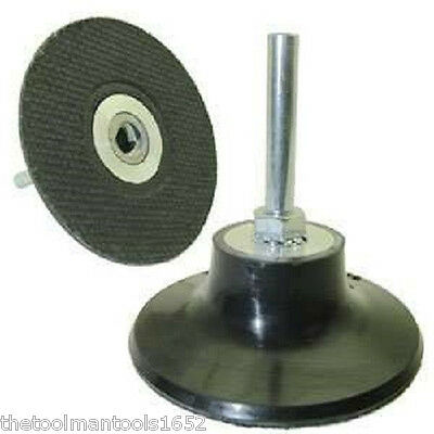 "2"" Roloc Type Holder Only with 1/4"" Shank for Die Grinder 3M type disc Holder"