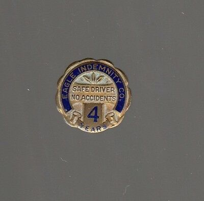 [45250] Undated Pin Eagle Indemnity Company 4 Years Safe Driving