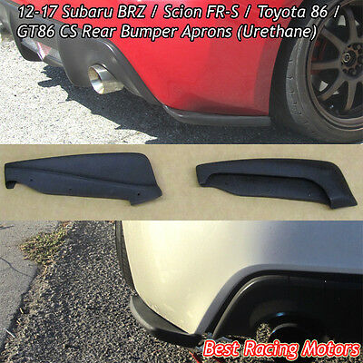 Carbon Look Toyota 86 Factory Style Rear Bumper Diffuser Fits 12-16 FR-S