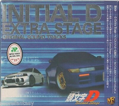 CD INITIAL D EXTRA STAGE O.S.T ANIME CDs SOUNDTRACK (T0016)