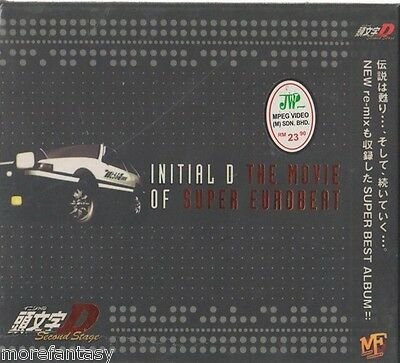 CD INITIAL D THE MOVIE OF SUPER EUROBEAT O.S.T ANIME CDs (T0014)