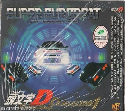 Cd Initial D Second Stage D Selection 1 O.s.t Soundtrack (T0017)