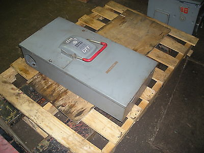 General Electric  200 Amp Disconnect Catalog #TH4324 - Model 1
