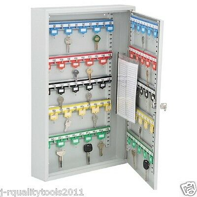 100 Key Wall Hanging Storage Cabinet Organizer Rack Holder Lock Case Key Rack