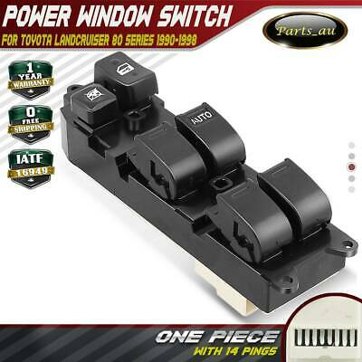 Master Main Power Window Switch for Toyota Landcruiser 80 Series 1990-1998