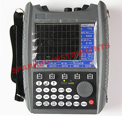 SUB200 Ultrasonic Flaw Detector Tester Meter Defectoscope 0~25000mm DAC Curve