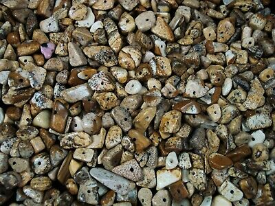 Gemstone Chips 50g Picture Jasper Loose Beads Jewelry DIY Jewellery FREE POSTAGE