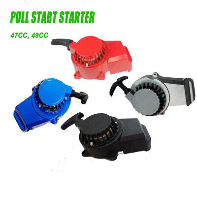Alloy Pull Start Starter Pocket Bike Mini Dirt Atv Quad 50Cc 49Cc 47Cc 2 Stroke