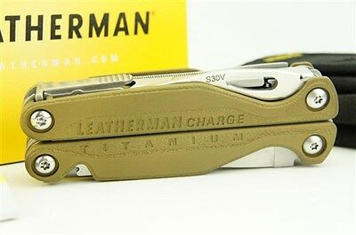 Leatherman Charge TTi Multi-Tool, Anodized Edition - Military Olive Drab
