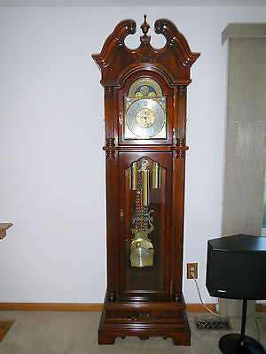 Trend By Sligh Grandfather Clock Western Germany Made In