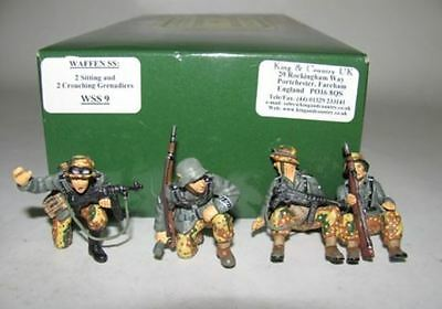 King and (&) Country WS009 - Panzer Grenadiers - Retired