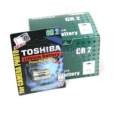 TOSHIBA CR2 3V Lithium Battery 1PACK (10PCS) Powerful Single Use Batteries