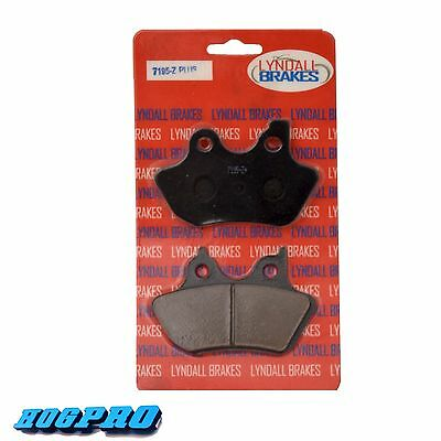 LYNDALL LRB LLC Z-PLUS 7195 BRAKE PADS FOR HARLEY Bagger/Touring/Softail 00-07