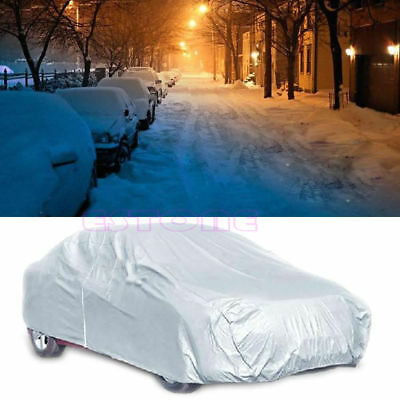 Waterproof Full Car Cover Sun UV Snow Dust Rain Resistant Protection Size XL New