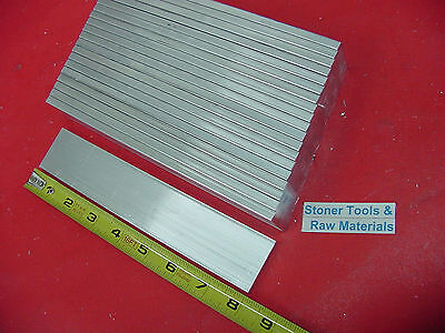 "20 pieces 1/4"" X 1-1/2"" ALUMINUM 6061 FLAT BAR 8"" T651 .250"" long New Mill Stock"