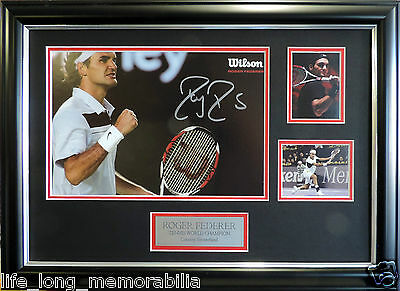 SERENA WILLIAMS TENNIS No. 1 WORLD CHAMPION SIGNED AND FRAMED FULLY GLASSED