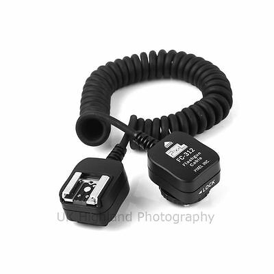 Pixel FC-312 3M Long Off Hot Shoe TTL Cord for Nikon SB-900,SB-800,600 as SC-28