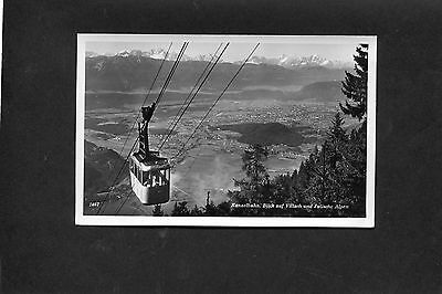 Postcard - view of Cable Car, Gerlitzen Kanzelbahn, Austria, C1960