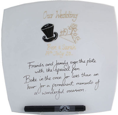 Wedding Gift Signature Plates