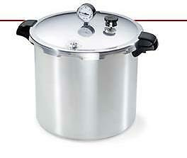 Presto 23 Quart Pressure Cooker / Canner uses Fowlers-Vacola and Ball Jars