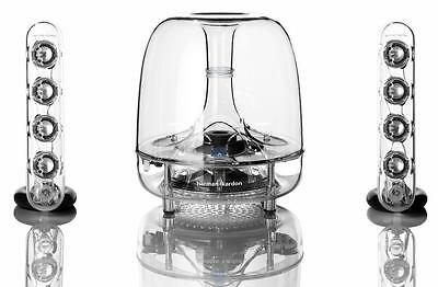 Harman Kardon SoundSticks Wireless Bluetooth 2.1 Ch Desktop Speakers w/Subwoofer