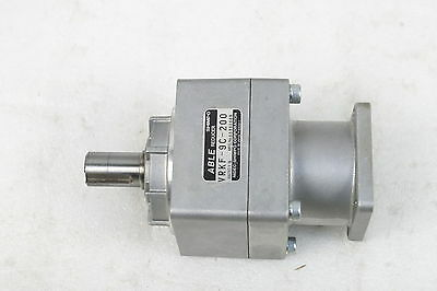#0150  Nidec Shimpo  Able Reducer Gearhead Vrkf-9C-200 Ration 9:1