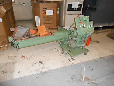 Amacoil Machinery Auger Type Granulator- 5HP, Great Condition