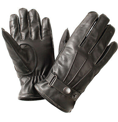 Motorbike Leather Warm Winter Gloves Casual Gloves A Grade Leather Bike Gloves