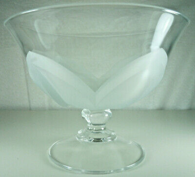 Cris D'Arques Florence Footed Round Bowl