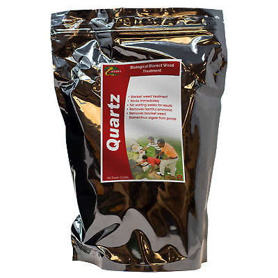 100% Biological Blanket Weed Treatment HYDRA QUARTZ 1 Kg Treats Up To 12,500L