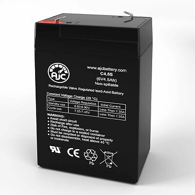 This is an AJC Brand Replacement Disney Princess KT1107TG 6V 4.5Ah Scooter Battery