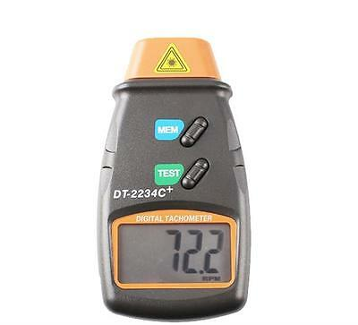 Non Contact Tach Tool RPM Handheld Digital Photo Laser Tachometer tester 99,999