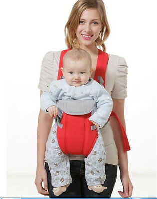 Baby Carrier sling wrap Rider Infant Comfort backpack Red/Blue /Purple 3 Colors