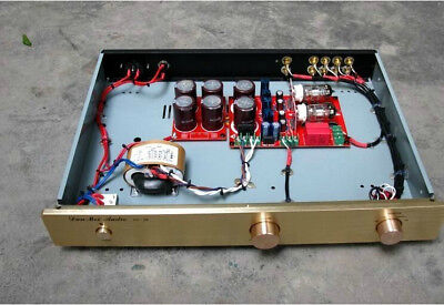 Douk audio hifi 6N11 tube Pre-AMP preamplifier With four input and SRPP circuit