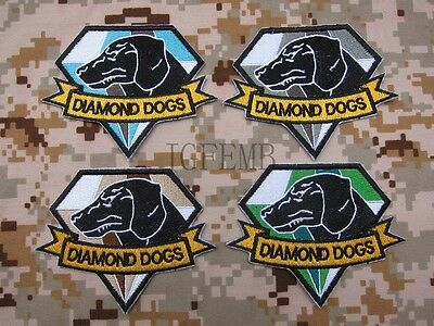 MGS Metal Gear Solid DIAMOND DOGS Morale tactics Embroidery Patch