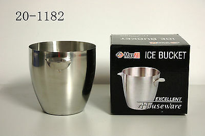 Mirror Polished Stainless Steel; Ice Bucket; Beer/Wine/Champagne cooler;