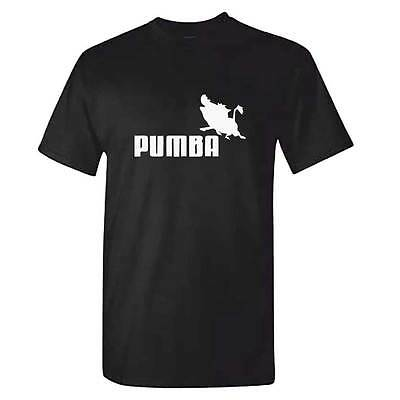 PUMBA Tshirt - Mens Lion King Top Funny Gift Present Hakuna Matata - Ideal Gift