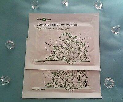 NEW It Works (2) Body Wraps Ultimate Applicators Firm Tone Tighten FREE SHIPPING