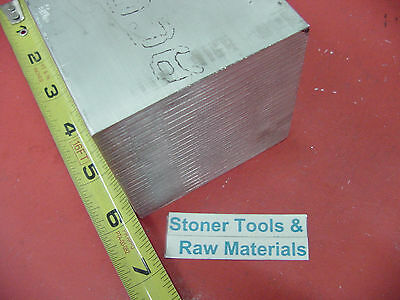 "3"" X 3"" ALUMINUM 6061 SQUARE SOLID BAR 6"" long T6511 Flat Mill Stock 3.00"""