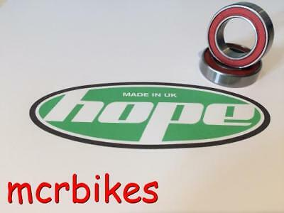 Hope Pro2 Evo Rear Wheel Hub Bearing Kit Chrome Steel Grease Packed