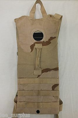 MOLLE II HYDRATION CARRIER Backpack US Military Issue DESERT Camo EXCELLENT