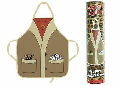 Only Fools and Horses Official Del Boy Apron in Tube