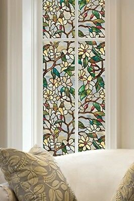 Artscape 24-Inch by 36-Inch Summer Magnolia Window Film 01-0142