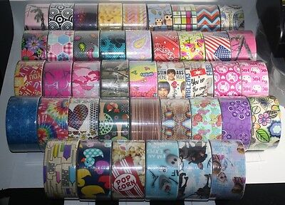 *NEW* You Pick Duck Brand Duct Tape Rolls!!  Printed Patterned Rare Retired