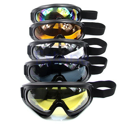 New Motorcycle Ski Snowboard Dustproof Sunglasses Goggles Lens Frame Eye Glasses