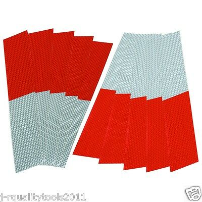 Reflective Conspictuity Sticker Strips Markings For Truck Trailer Conspicuity